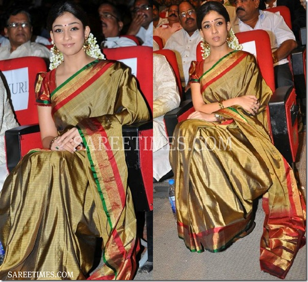 Nayanathara_Traditional_Sari