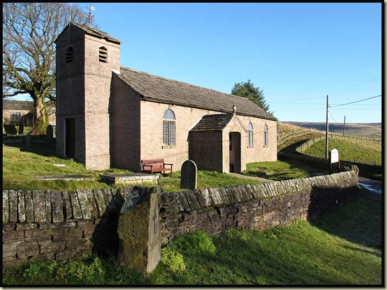 The small chapel at Macclesfield Forest