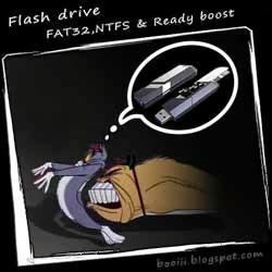 flash drive fat32 ntfs ready boost. Black Bedroom Furniture Sets. Home Design Ideas