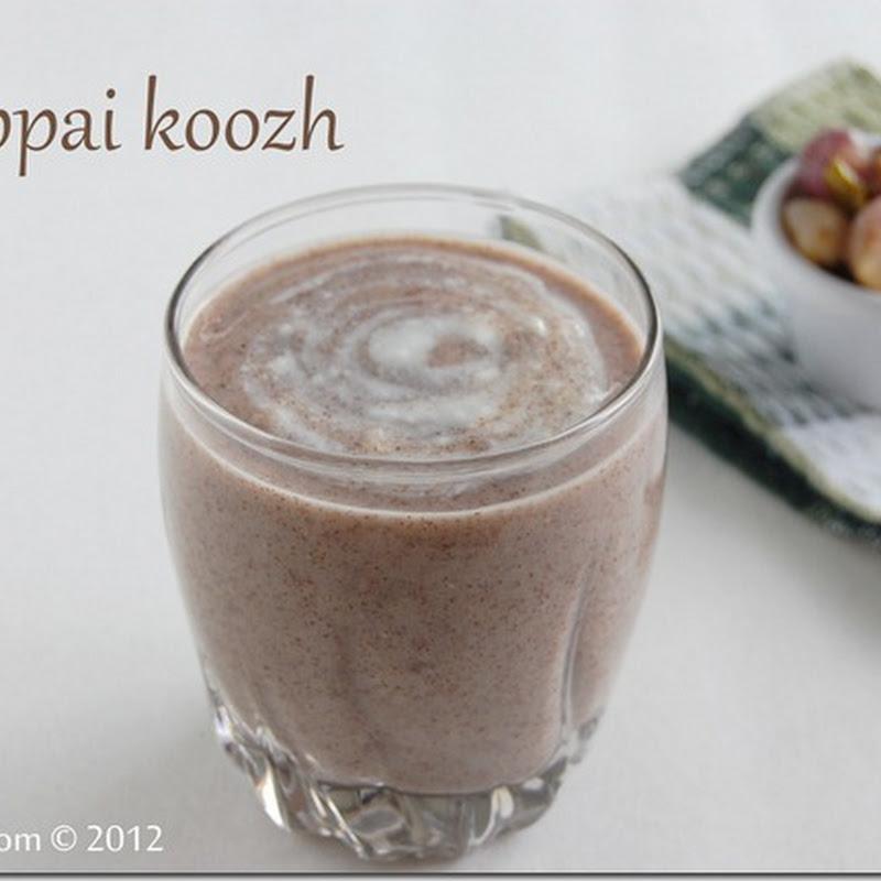 Keppai koozh/ Ragi porridge