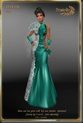 DANIELLE Finesse Teal'