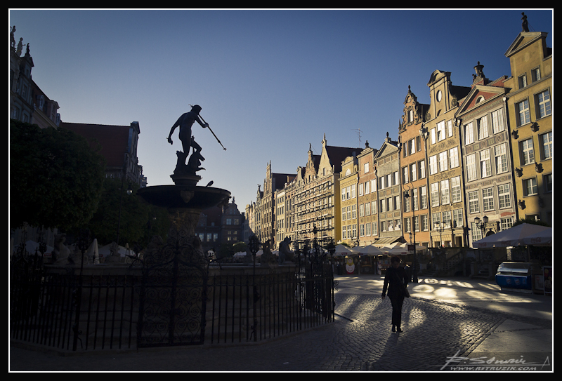 Gdańsk. Pomnik Neptuna.