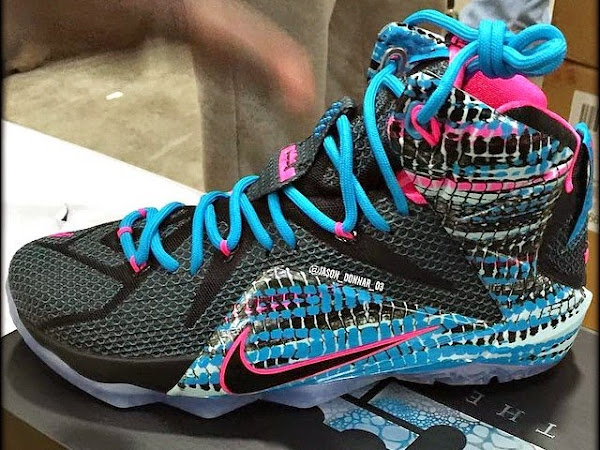 First Look at 822023 Chromosomes8221 LeBron 12 Coming out in 2015