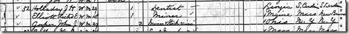 Holliday John 1880UnitedStatesFederalCensus