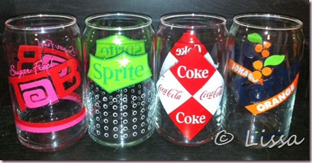 coke glasses