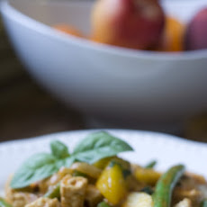 Chicken and Peach Curry