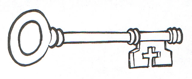 house key coloring pages - photo#24