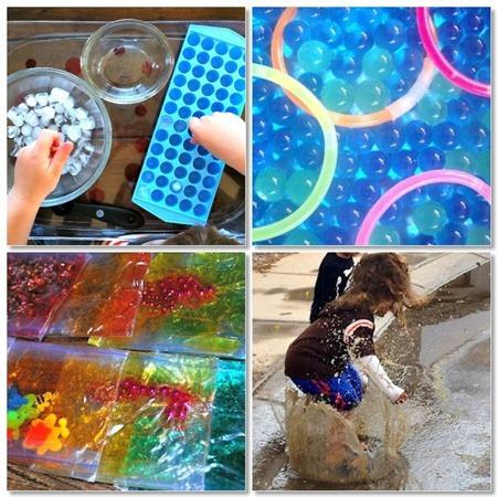 sensory play mosaic