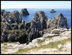 rocks at point