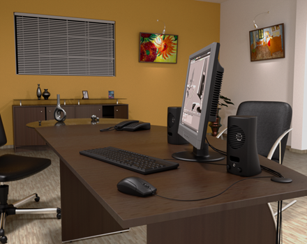 Render-imagen-oficina-3d-software-LuxRender