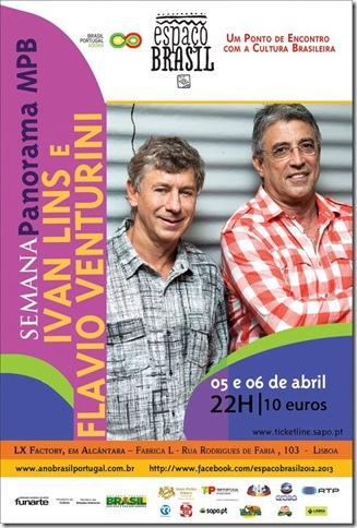 Ivan Lins e Flavio Venturini em Portugal