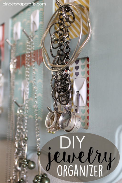 CC DIY Jewelry Organizer