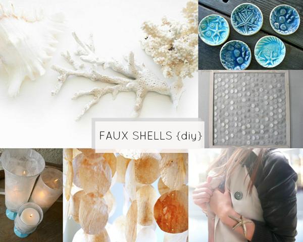 Shells_Faux Shells {diy}