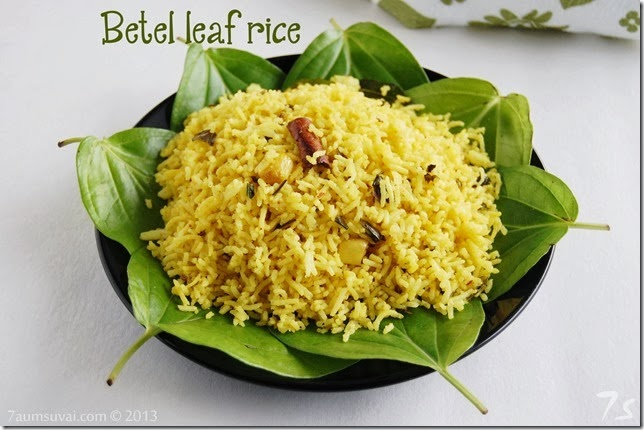 Betel leaf rice