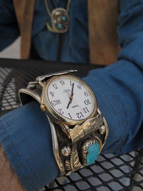 Embree Hale Turquoise and Silver Watch