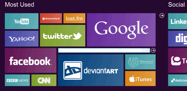 Tweak your Browsers Layout to Windows 8 Style