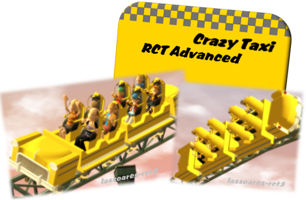 Crazy Taxi (RCT Advanced) lassoares-rct3