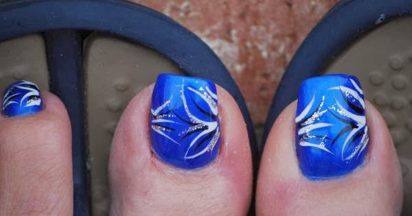 Cute Blue Nail Designs Nail Designs Hair Styles Tattoos And