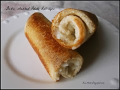 Garlic Mashed Tatie Roll Ups