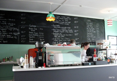 next door cafe counter