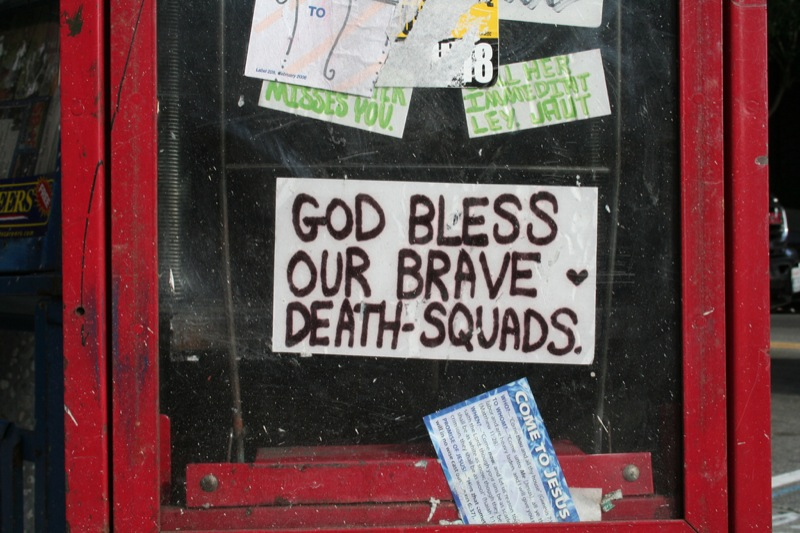 CC Photo by Flickr User katerw Subject is Brave Death Squads.jpg