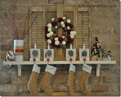 Christmas Mantel Main