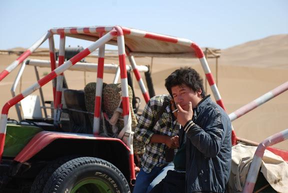 Dunes - Chauffeur de buggy