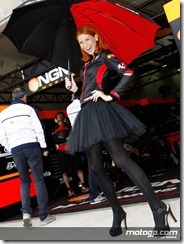 Paddock Girls Monster Energy Grand Prix de France  20 May  2012 Le Mans  France (16)