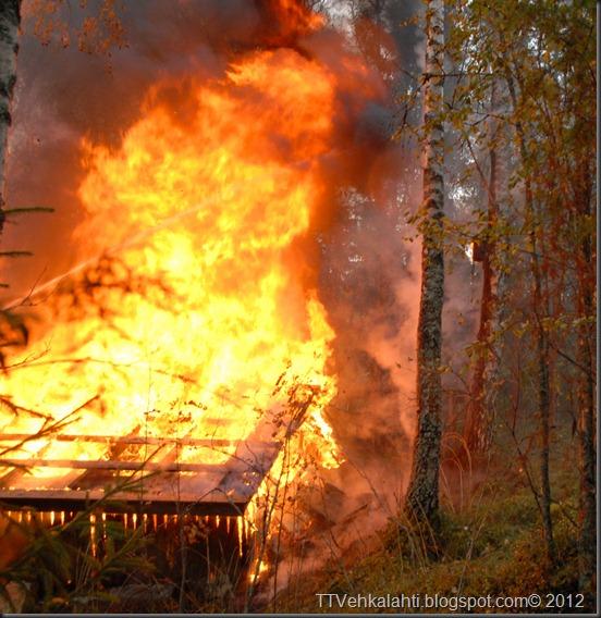 24H palomiehenä ulkorakennuksen polttaminen 170