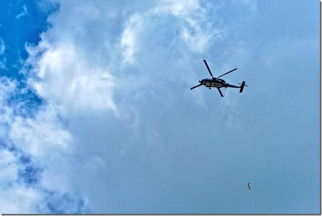 Rescue chopper?