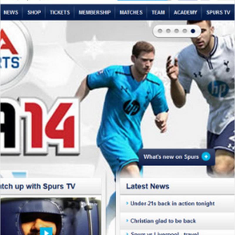 10 ejemplos de sitios web deportivos con exagerado contenido visual