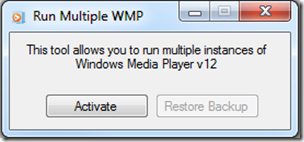 Multiple Windows Media Player