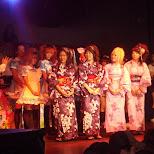 kimonos at masuchan's box in Yokohama, Kanagawa, Japan