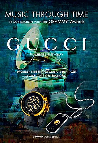 Gucci Music Through Time Grammy Museum Travelling Exhibiton