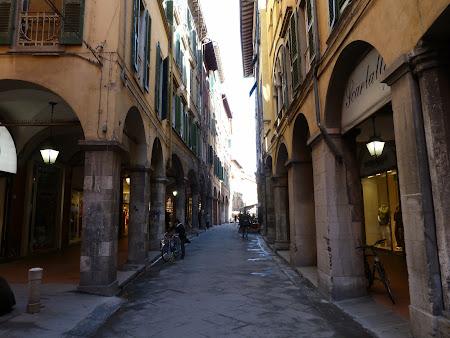 Obiective turistice Pisa: Zona medievala