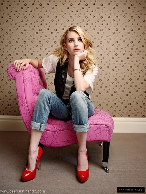 Emma Roberts linda sensual sexy sedutora desbaratinando (13)