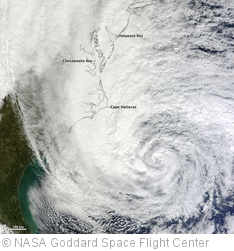 'Hurricane Sandy off the Carolinas [detail]' photo (c) 2012, NASA Goddard Space Flight Center - license: http://creativecommons.org/licenses/by/2.0/