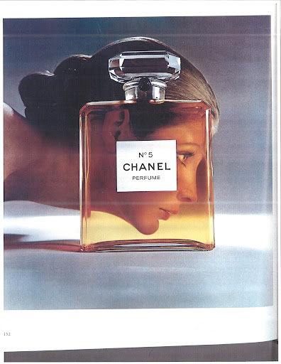 This is a classic Chanel ad, which is where we came up with the idea to do a