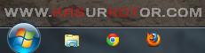 Mengubah dan Memperkecil Ukuran Taskbar Windows 7