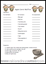Create muffins with your class to work on measurement, doubling and halving.