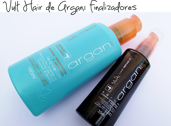 Finalizadores Vult Hair Repair Argan