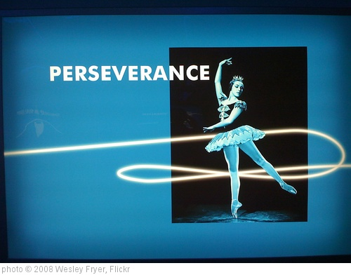 'Perserverance' photo (c) 2008, Wesley Fryer - license: http://creativecommons.org/licenses/by-sa/2.0/