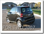SMART FORTWO 2007 RESTYLING