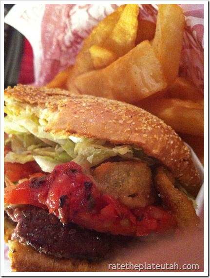 Red Robin Burnin' Love Burger
