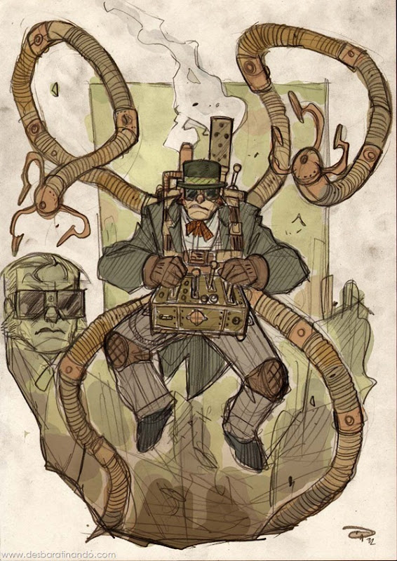 personagens-steampunk-DenisM79-desenhos-desbaratinando (7)
