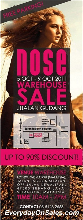 Nose-Warehouse-Sale-2011-EverydayOnSales-Warehouse-Sale-Promotion-Deal-Discount
