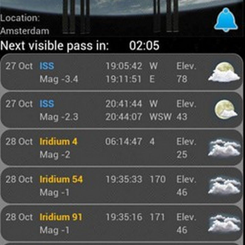 ISS Detector: Get Notified When the Space Station is Visible [Android]