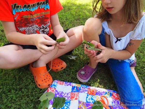#campcraft Working together #craftlighning