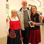 Birgitta, Bengt (son charmant mari) et Claudine notre galloise....