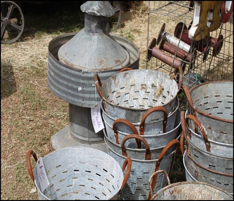 vintage olive baskets